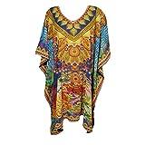 Mogul Kaftan Tunic Kimono Dress Ladies Summer Women Evening Party Plus Size 6-24