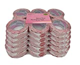 iMBAPrice Stop Sign Sealing Tape - Printed Message ''IF SEAL IS BROKEN CHECK CONTENTS BEFORE ACCEPTING'' 36 Rolls of 110 Yards(330 Feet) 2'' Wide Security Shipping Packing Tape