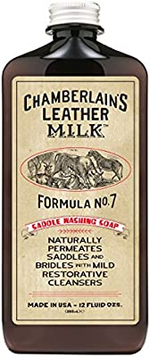 Chamberlain's Leather Milk Formula No  2 & 4 - All-Natural Non-Toxic Saddle  Washing Soap Made in the USA - 2