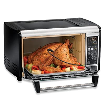 Hamilton Beach® 6-slice Set and Forget Toaster Oven