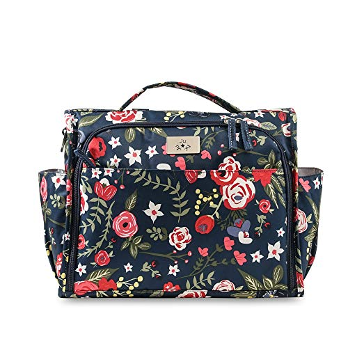 JuJuBe Limited Edition Classical Convertible Diaper Bag – Midnight Posy