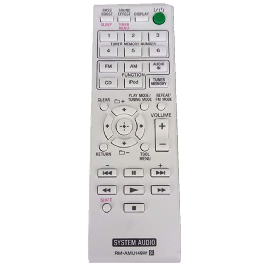 Artshu Remote Control for Sony AV Power Amplifier System Audion Player RM-AMU149W RM-AMU152