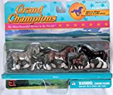 Grand Champions Micro Mini Horse Collection Shires Set