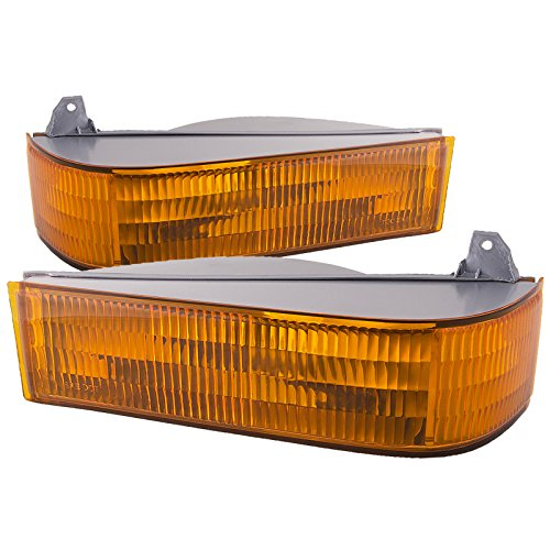 HEADLIGHTSDEPOT Signal Lights Compatible with Ford Bronco II Explorer Ranger Includes Left Driver and Right Passenger Side Signal Marker Lights
