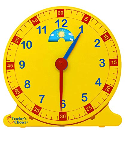Learn How to Tell Time Teaching Clock - Large 12