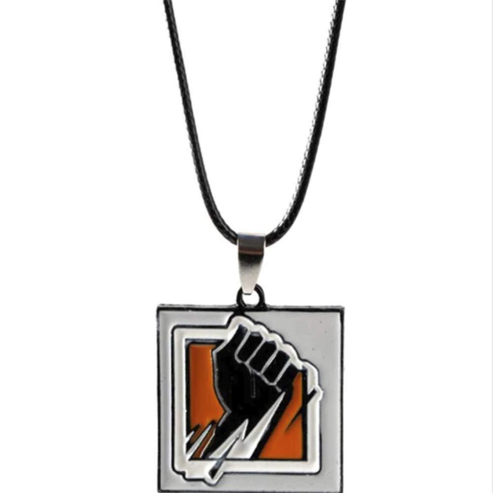 AEmber BK - R6 Finka Keychain and Pendant Necklace | Rainbow