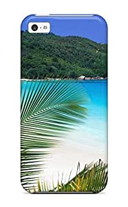fenglinlin4624194K19208420 Anti-scratch Case Cover Protective Tropical Retreat Beach Case For iphone 4/4s