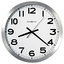 Howard Miller Flat Round Wall Clock, 15-3/4 (625450)