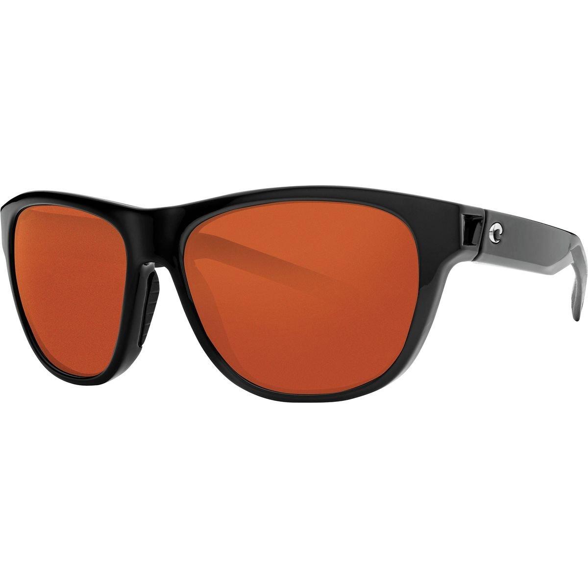 Costa Bayside偏光580pサングラス B07BGCV5DG One Size|Copper 580p/Shiny Black Frame Copper 580p/Shiny Black Frame One Size