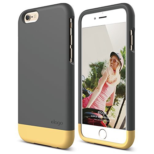 iPhone elago Glide Cream Yellow
