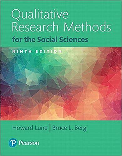 Amazon com: Qualitative Research Methods for the Social Sciences