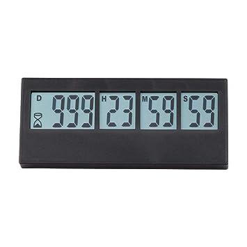 Compra Following Temporizador Digital para recordatorio de Eventos, Temporizador, Reloj de Cuenta atrás, Pantalla LCD, Alarma para Boda, jubilación, ...