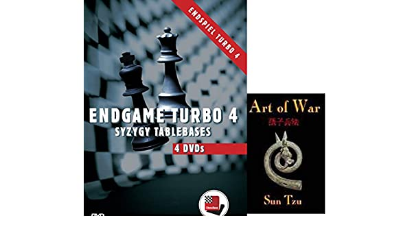 Amazon.com: Endgame Turbo 4 - Syzygy Tablebases on 4 DVDs Chess Soiftware bundled with Art of War on DVD - 2 item bundle: Software