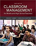 img - for Classroom Management for Middle and High School Teachers with MyEducationLab with Enhanced Pearson eText, Loose-Leaf Version -- Access Card Package 10th Edition book / textbook / text book