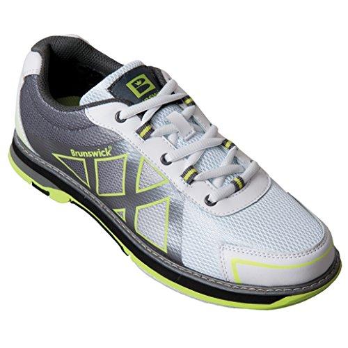brunswick-ladies-kross-bowling-shoes-9-1-2-m-us-white-silver-yellow