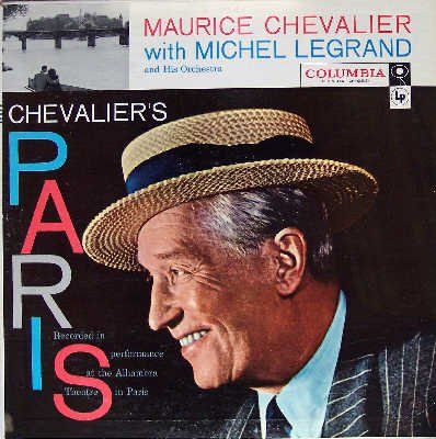 Chevalier's Paris: Recorded In Performance At The Alhambra Theatre In Paris [Vinyl LP] [Mono] by Columbia