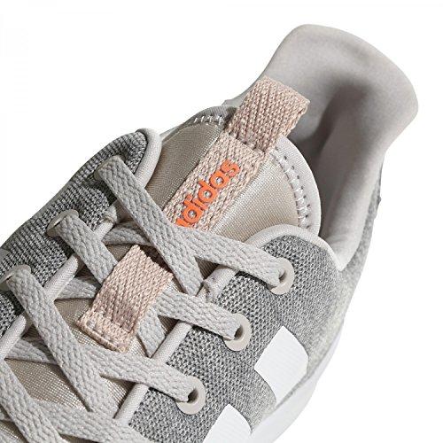 adidas Unisex-Kinder Cloudfoam Racer TR Sneaker Beige (Chalk Pearl/Footwear White/Hi-Res Orange)