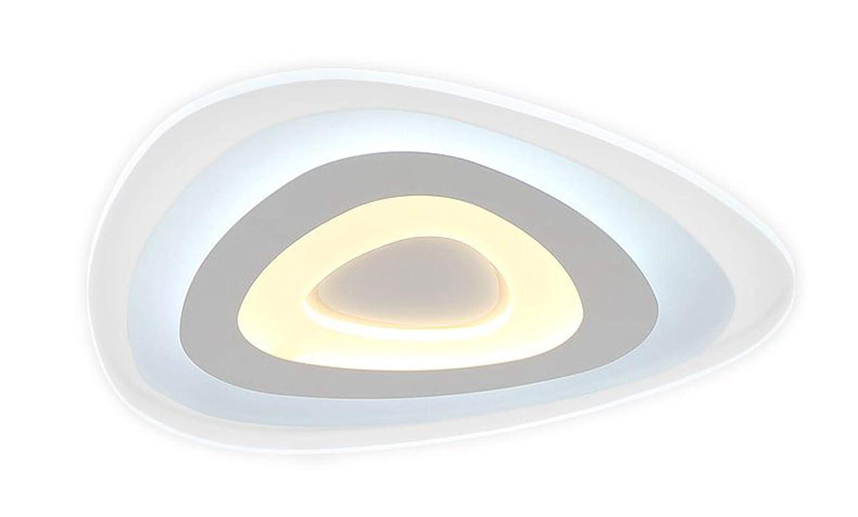 Woward Premium LED Deckenleuchte ER-78114 aus Plexiglas mit Fernbedienung   114W   Lichtfarbe und Helligkeit dimmbar
