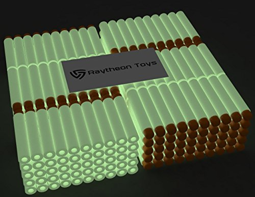 glow-in-the-dark-300-pieces-set-ultimate-nerf-foam-toy-darts-by-raytheon-toys-premium-refill-bullets