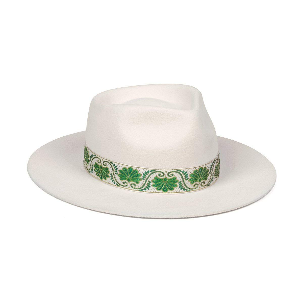 Lack of Color Women's Ivy Beverly Classic Wool Fedora (Off-White, Small (55 cm))