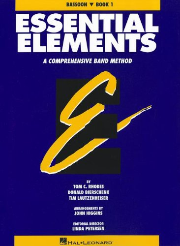 Book 1 Bassoon - Essential Elements, Book 1 - Bassoon