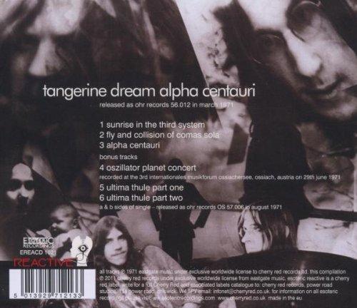 Alpha Centauri /  Tangerine Dream