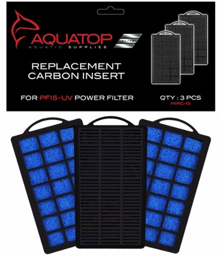 Image of Aquatop Aquarium Carbon Cartridge for PF15-UV Hang On UV Filter
