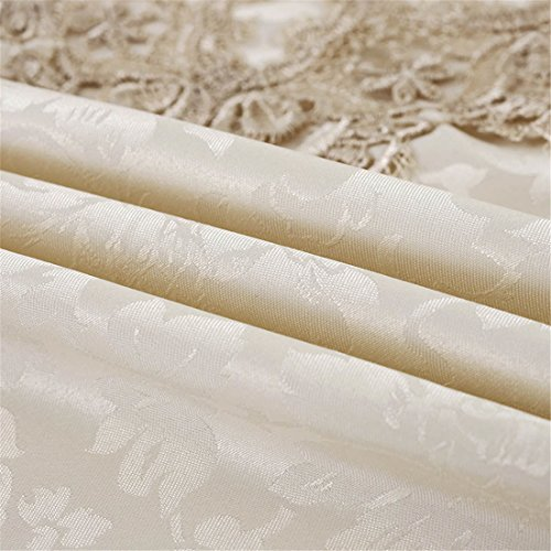 TaiXiuHome Modern Lace Floral Embroidered Indoor Outdoor Table Runner Table flags for Country Rustic Party Wedding Home Decoration 16 x 48 inch approx by TaiXiuHome (Image #5)