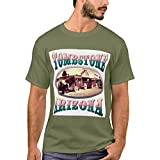Zazzle Men's Basic T-Shirt, Tombstone Arizona T-Shirt