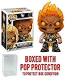 Funko Pop! Games: Mortal Kombat X Scorpion Flaming Skull Exclusive Collectible Vinyl Figure (Bundled with Pop Box Protector Case)