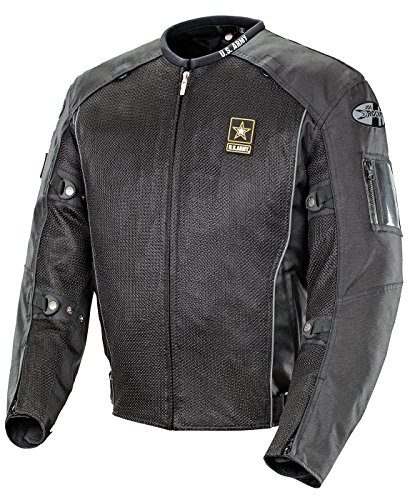 - Joe Rocket Men's U.S. Army Recon Mesh Motorcycle Jacket U.S. Army Black Large