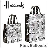 (ハロッズ) Harrods 正規品 トートバッグ Sサイズ Mサイズ ショッピングバッグ Pink Balloons Shopper Bag