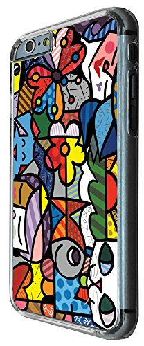 307 - Stain Glass Shabby Chic Multi Art Cat Face Design iphone 6 6S 4.7'' Coque Fashion Trend Case Coque Protection Cover plastique et métal