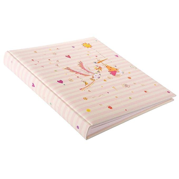 Babyalbum Adebar rosa Goldbuch