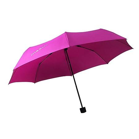 JUNDY Paraguas Compacto y Resistente al Viento, Paraguas ...