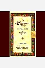 The Rubaiyat of Omar Khayyam Explained Audible Audiobook