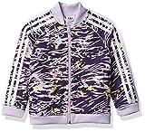 adidas Originals unisex-youth SST Top Purple/Multicolor/White X-Large