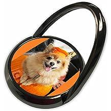 3dRose RinaPiro - Halloween - Halloween dog. Puppy dressed in Halloween costume. - Phone Ring (phr_221545_1)