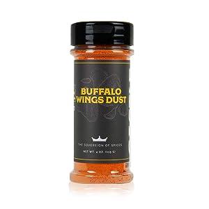 Castle Foods Buffalo Chicken Wing Dust Seasoning - 4 Oz.