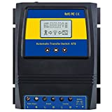 MOES Dual Power Controller Automatic Transfer Switch 50A 5500W for Off Grid Solar