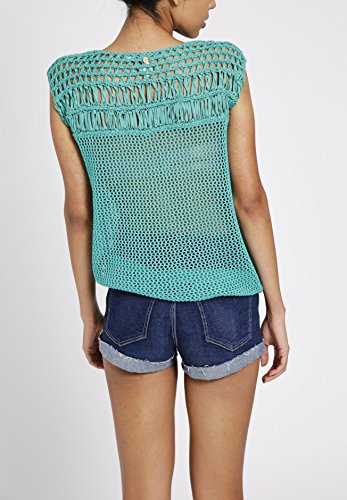 Pull sans Clair Khujo Manche Femme Vert Small 4wTxqdOCx