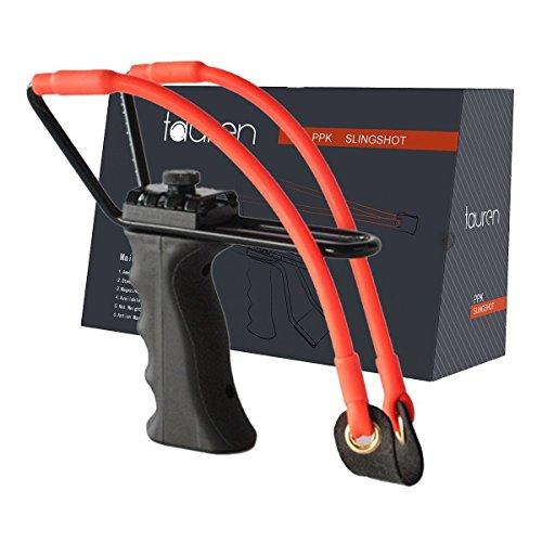 Tauren Professional Adjustable Hunting Steel Slingshot / Catapult with...