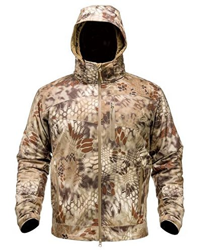 Kryptek Men's Aegis Extreme Jacket, Highlander, Large