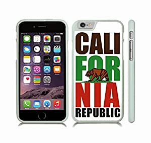 Case Cover For SamSung Galaxy S3 with California Republic/ Golden Bear/ White Background Design Snap-on Cover, Hard Carrying Case (White)