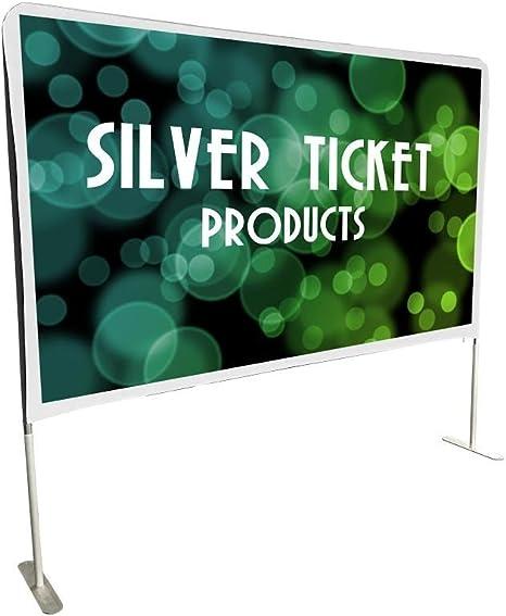Amazon.com: Silver Ticket pantalla para proyector ...