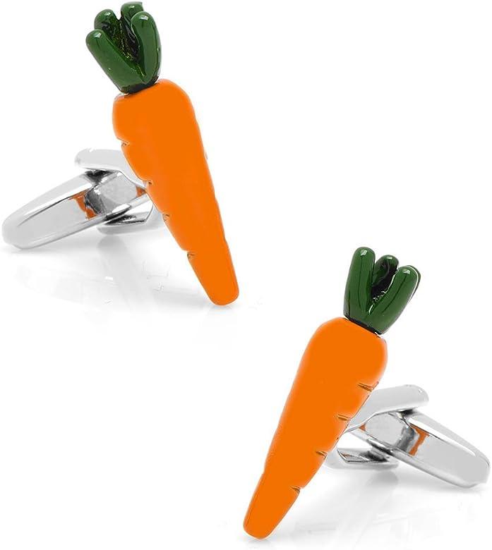 Silver Smith Mise en Place Gemelos zanahoria cocinero salud conejo: Amazon.es: Joyería