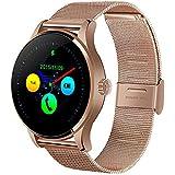 YIMOHWANG K88H Smart Watch Round Screen Support Heart Rate Monitor Bluetooth SmartWatch For Apple Huawei Xiaomi