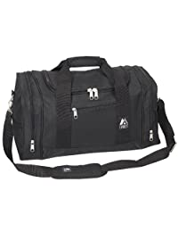 Everest Luggage Sporty Gear Bag, Black, Black, One Size