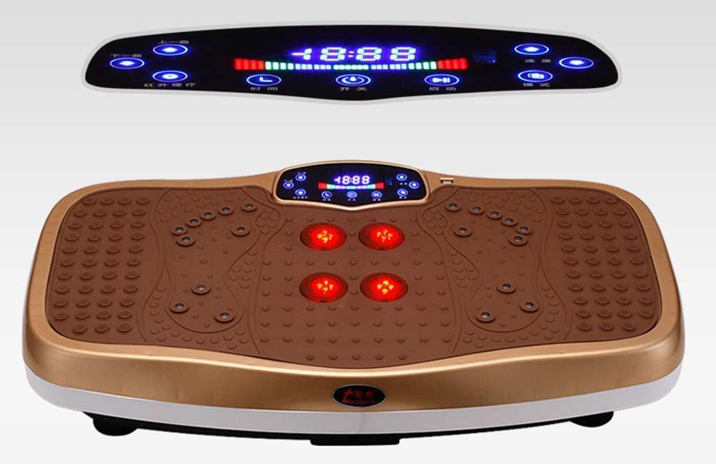 JZS Power Plate - Equipo de Ejercicio Vibro Power Fitness Machine ...