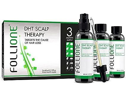 Terapia Follione DHT para cuero cabelludo - 3 meses ...